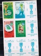 Qatar.1966 World Cup.Soccer.Football.Fussball.Imperforated.MNH** - Fußball-Weltmeisterschaft