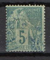 COLONIES GENERALES ( POSTE ) : Y&T N°  49  TIMBRE  BIEN  OBLITERE . - Alphée Dubois