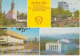Kazakhstan Alma Ata Uncirculated Postcard - Kazakhstan