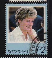Botswana 1998, Diana, Minr 664, Vfu - Botswana (1966-...)
