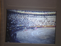 Ancienne Diapositive ESPAGNE Diapo Slide SPAIN Vintage Annees 70's CORRIDA ARENE 2 - Diapositives (slides)