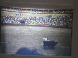 Ancienne Diapositive ESPAGNE Diapo Slide SPAIN Vintage Annees 70's CORRIDA ARENE 8 - Diapositives (slides)