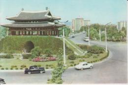 North Korea Pyongyang Mercedes Benz Cars Limousine Uncirculated Postcard - Korea, North