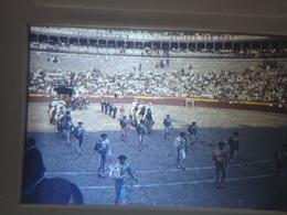 Ancienne Diapositive ESPAGNE Diapo Slide SPAIN Vintage Annees 70's CORRIDA ARENE 12 - Diapositives (slides)