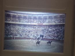 Ancienne Diapositive ESPAGNE Diapo Slide SPAIN Vintage Annees 70 CORRIDA ARENES 1 - Diapositives (slides)