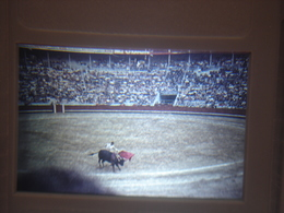 Ancienne Diapositive ESPAGNE Diapo Slide SPAIN Vintage Annees 70 CORRIDA ARENES 6 - Diapositives (slides)