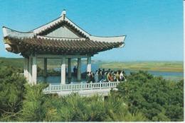 North Korea Mangyong Pavilion Mangyong Bong Hill Uncirculated Postcard - Korea, North