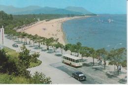 North Korea Wonsan Bus Uncirculated Postcard - Korea, North