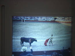 Ancienne Diapositive ESPAGNE Diapo Slide SPAIN Vintage Annees 70 CORRIDA ARENES 9 - Diapositives (slides)