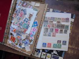 BELGIQUE+MONDE JOLI VRAC A RECLASSER - Lots & Kiloware (mixtures) - Min. 1000 Stamps