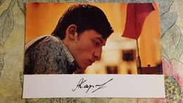ANATOLY KARPOV  1974 - OLD SOVIET POSTCARD - Chess - Échecs - Echecs