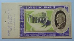 1 Franc 1941  : Bon De Solidarité - Bonds & Basic Needs