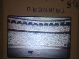 Ancienne Diapositive ESPAGNE Diapo Slide SPAIN Vintage 1958 CORRIDA Barcelone TRIANERO 2 - Diapositives (slides)