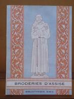 Broderie D' Assise DMC 1954 Nombreuses Planches Couleurs - Point De Croix