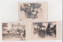Marche De L'Armée, Journal Le Matin, Nanterre, Vaucresson, Lot De 5 Cartes-photo - France