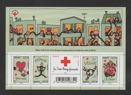 FRANCE / 2012 / Y&T N° 4699/4703 ** En Bloc Ou F4699 ** : BF Croix-Rouge (Solidarité) - Gomme D'origine Intacte - Neufs