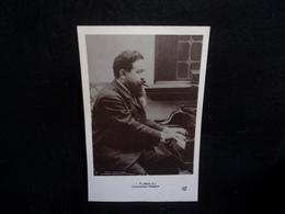 Célébrités. Albeniz Isaac.  Compositeur Espagnol. Carte Photo. Voir 2 Scans . - Singers & Musicians