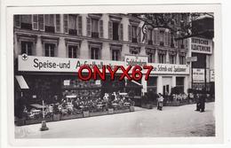Carte Postale Photo Militaire PARIS (75) Occupation Allemande 3 ème Reich Soldatenheim-Kommandantur 21 Champs-Elysées St - Guerra 1939-45