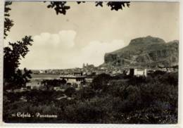 CEFALÙ  PANORAMA  VIAGGIATA 1955 - Altre Città
