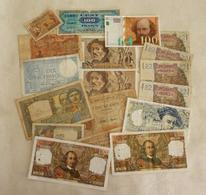 Lot N° 3   De 18 Billets Français - Monete & Banconote
