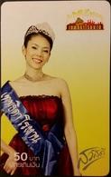 Mobilecard Thailand - AIS -  Girl,Frau,woman - Thaïland