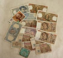 Lot N° 5  De 16 Billets Français - Monete & Banconote
