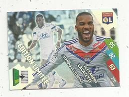 Football , Trading Card , Carte , ADRENALYN XL , 2014-2015 ,PANINI , Alexandre LACAZETTE , 2 Scans - Trading Cards