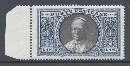 VATICANO 1933 GIARDINI E MEDAGLIONI 1,25L  Nº 29 - Neufs