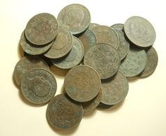 Lot 24 Coins Portuguese Monarchy - Coins & Banknotes