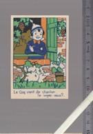 Image Devinette - Cherchez Le Coq - Brichet Nantes - Old Paper