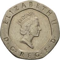 Monnaie, Grande-Bretagne, Elizabeth II, 20 Pence, 1990, TTB, Copper-nickel - 1971-… : Monnaies Décimales