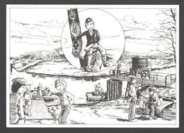 Temse - Gemmeke, Temses Eigen Stripfiguurtje - Tielrode - Veerdienst Aan De Durme - Illustratie - Nieuwstaat - Temse