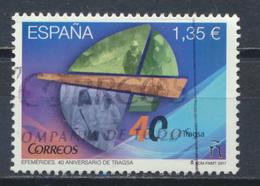 °°° SPAGNA SPAIN - YT N°4891 MI N°5186 - 2017 °°° - 2011-... Usati