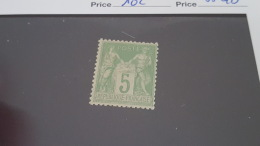 LOT 409910 TIMBRE DE FRANCE NEUF** N°102 LUXE - 1898-1900 Sage (Type III)
