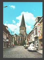 Zomergem - Dreef Met Zicht Op De Kerk - Nieuwstaat - VW Kever / Coccinelle / Käfer - Ford Taunus - Winkel - Slagerij - Zomergem