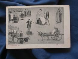 Irish Peasant Life   Illustration Vie Paysanne Irlandaise - Ed. B & R - Circulée 1904 - R212 - Unclassified