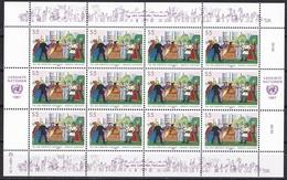Ei_ UN UNO Wien - Mi.Nr. 75 - 76 - Postfrisch MNH - Kleinbögen - Blocks & Kleinbögen