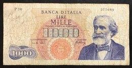 1000 Lire Verdi I° Tipo 10 08 1965    LOTTO 2177 - [ 2] 1946-… : Républic