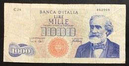 1000 Lire Verdi I° Tipo 10 08 1965    LOTTO 2178 - [ 2] 1946-… : Républic