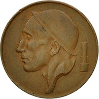 Monnaie, Belgique, 50 Centimes, 1952, TTB, Bronze, KM:144 - 1951-1993: Baudouin I