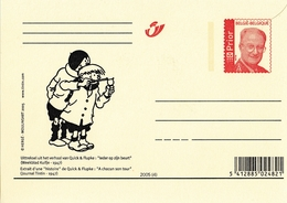 2005 Carte Belge Quick Et Flupke - Stripsverhalen