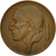 Monnaie, Belgique, 50 Centimes, 1953, Bruxelles, TTB, Bronze, KM:145 - 02. 25 Centimes