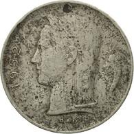Monnaie, Belgique, Franc, 1952, B, Copper-nickel, KM:143.1 - 1951-1993: Baudouin I