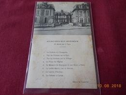 CPA - Aulnay-sous-Bois Historique - 1ère Série Complète De 8 Vues - Aulnay Sous Bois