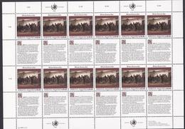 Ei_ UN UNO Wien - Mi.Nr. 108 - 109 - Postfrisch MNH - Kleinbögen - Blocs-feuillets