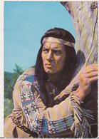 Germany Old Uncirculated Postcard - Movies - Pierre Brice In Winnetou - 2.Teil - Winnetou:The Red Gentleman - Acteurs