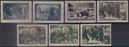 Russia 1942, Michel Nr 829-35, MLH OG - 1923-1991 USSR
