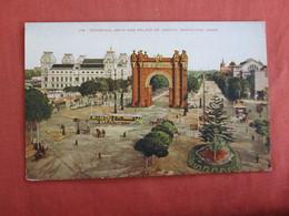 Triumphal Arch & Palace Of Justice Spain > Cataluña > Barcelona  Ref 3032 - Barcelona