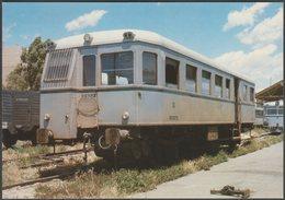 RENFE Automotor 9157, Ex Central De Aragón No A 11  - Eurofer Tarjeta Postal - Trains