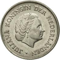 Monnaie, Pays-Bas, Juliana, 25 Cents, 1962, TTB+, Nickel, KM:183 - [ 3] 1815-… : Kingdom Of The Netherlands